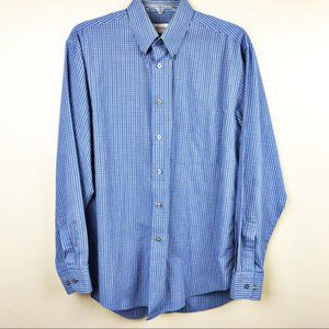 Yves Saint Laurent men's Button-Down Shirt plaid